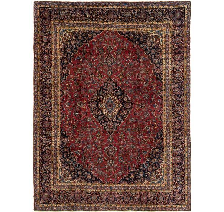 282cm x 370cm Mashad Persian Rug