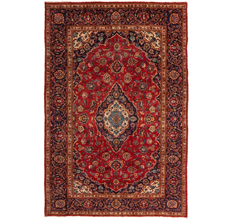 245cm x 380cm Kashan Persian Rug