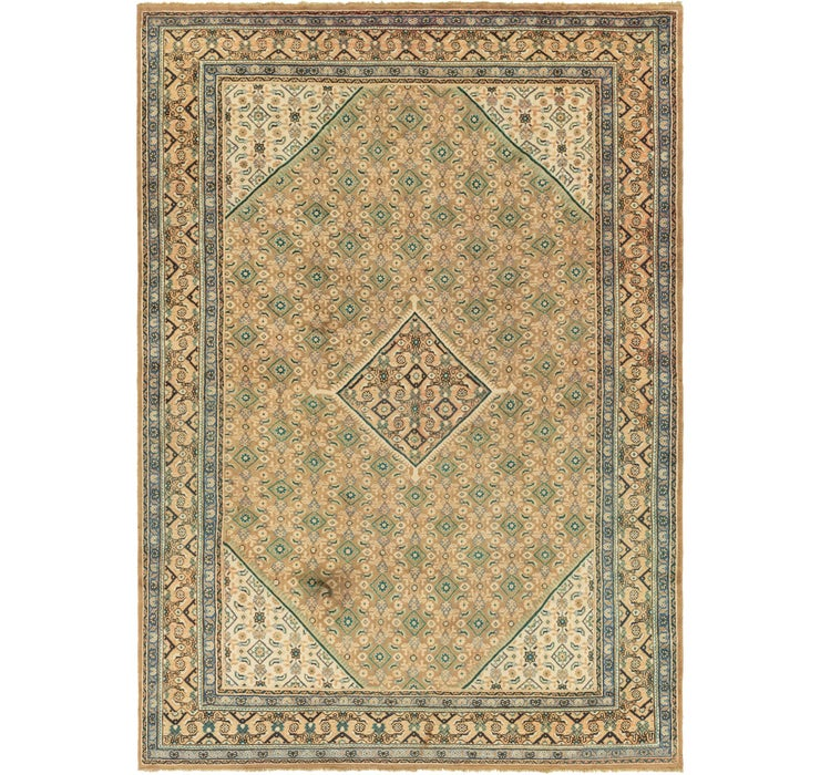 Image of 9' 3 x 13' 4 Farahan Persian Rug