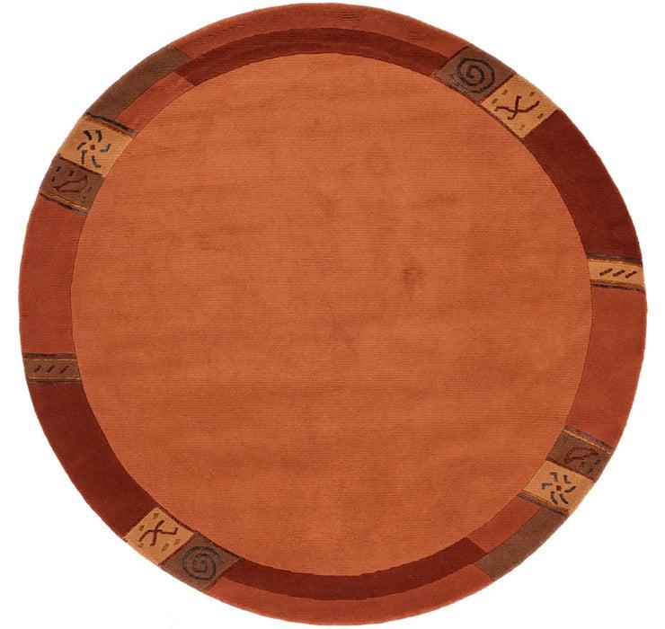 193cm x 193cm Nepal Round Rug