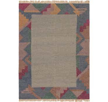 Image of 5' 5 x 7' 8 Kilim Dhurrie Rug
