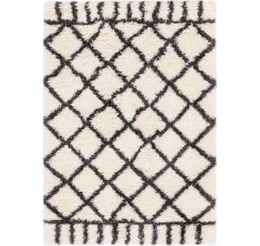 Image of 5' 4 x 7' 8 Textured Shag Rug