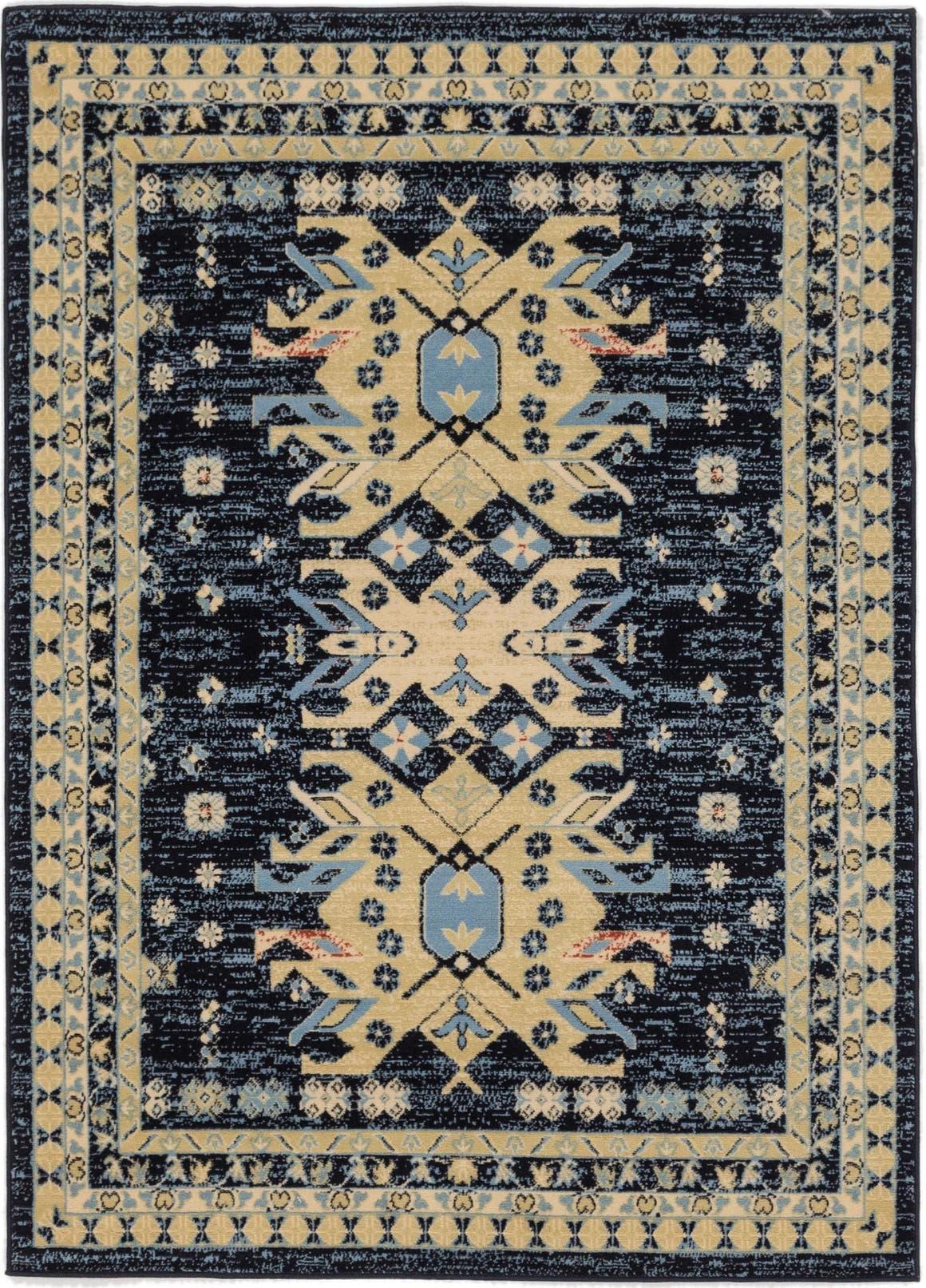 5' 3 x 7' 3 Heriz Design Rug main image
