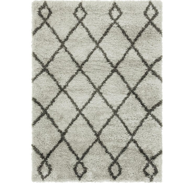 Image of 5' 4 x 7' 4 Textured Shag Rug