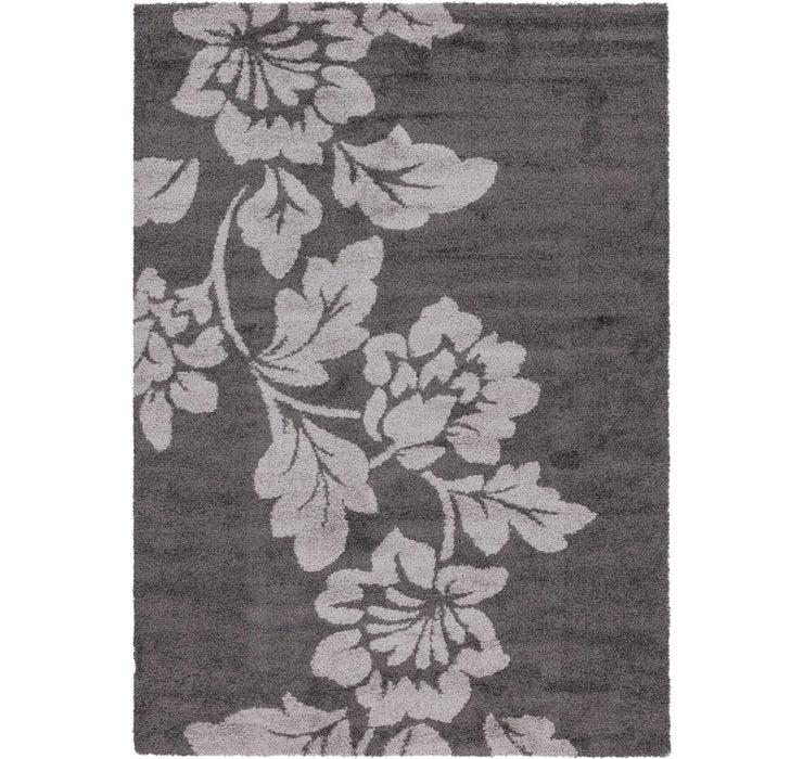 6' 7 x 9' 6 Textured Shag Rug