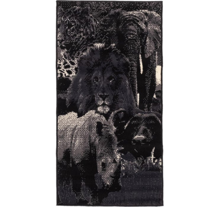 2' 4 x 4' 6 Safari Rug