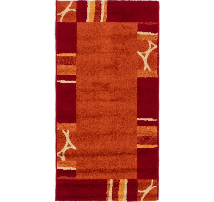 2' 2 x 4' 2 Reproduction Gabbeh Rug