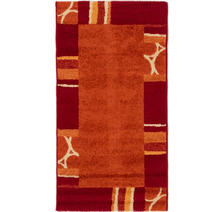 2' 2 x 4' Reproduction Gabbeh Rug