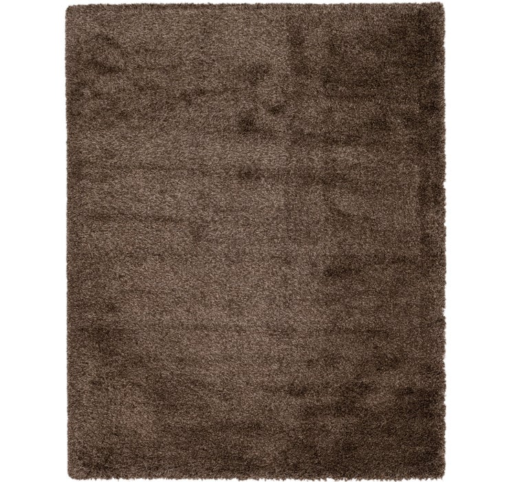 8' x 10' Luxe Solid Shag Rug