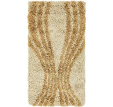 Image of 2' 8 x 4' 10 Textured Shag Rug