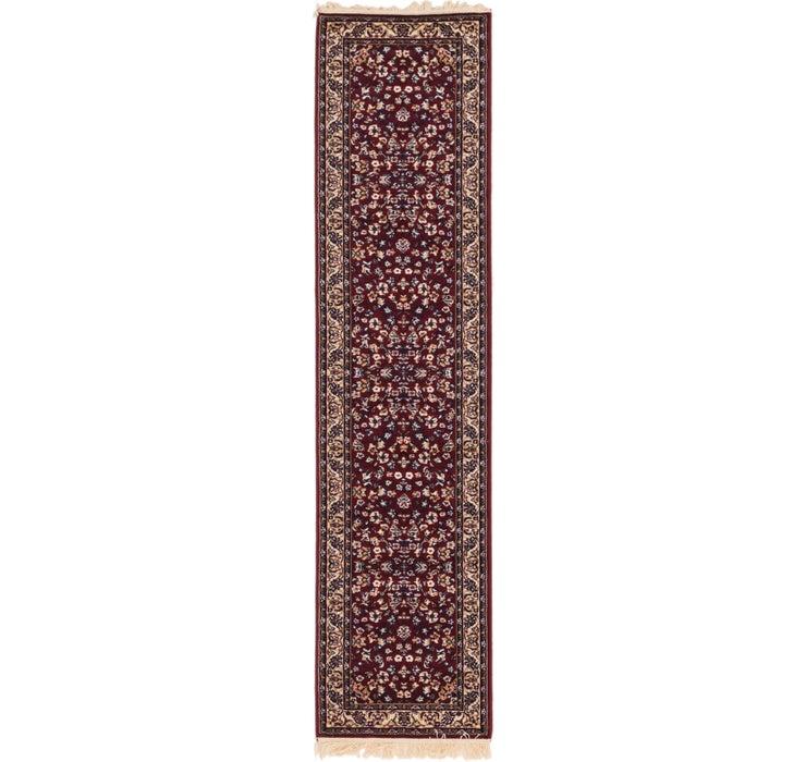 2' 4 x 9' 8 Kashan Design Runner Rug