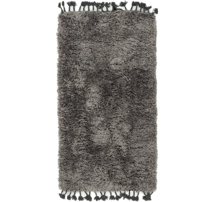 85cm x 152cm Luxe Solid Shag Rug