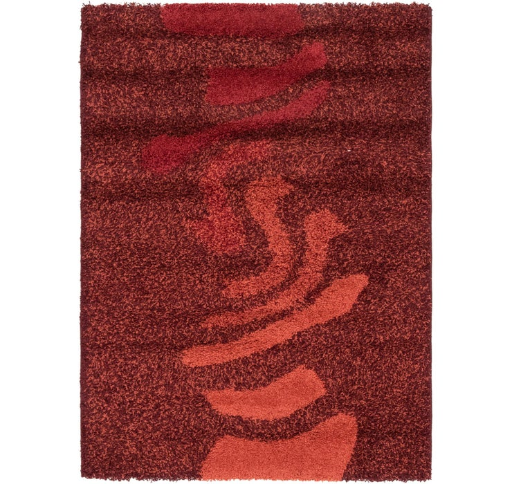 Image of 117cm x 160cm Textured Shag Rug
