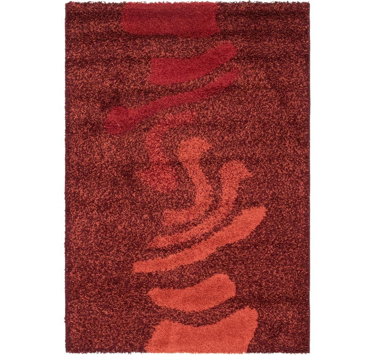 Image of 117cm x 170cm Textured Shag Rug