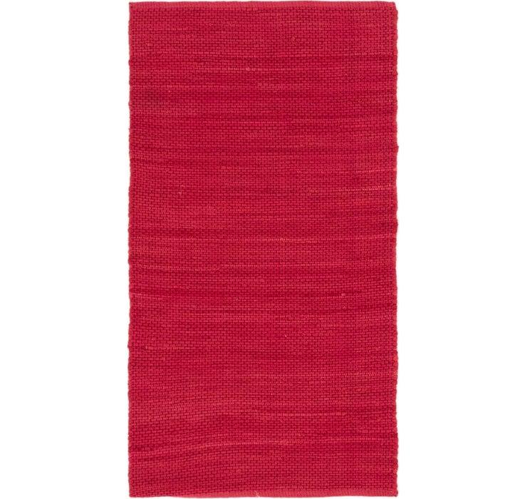 Image of 80cm x 152cm Chindi Cotton Rug