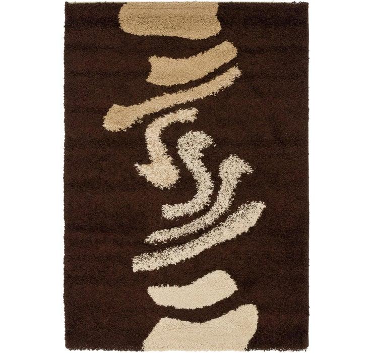 4' x 5' 7 Textured Shag Rug