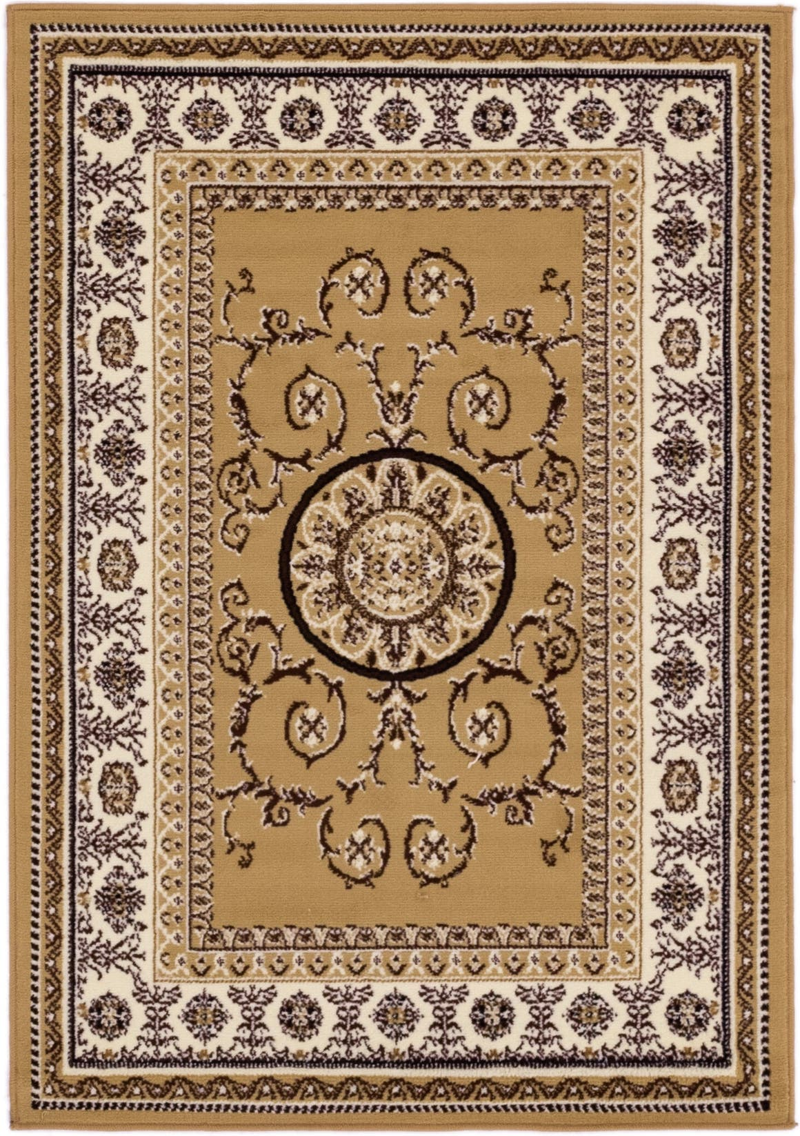 3' 10 x 5' 6 Classic Aubusson Rug main image
