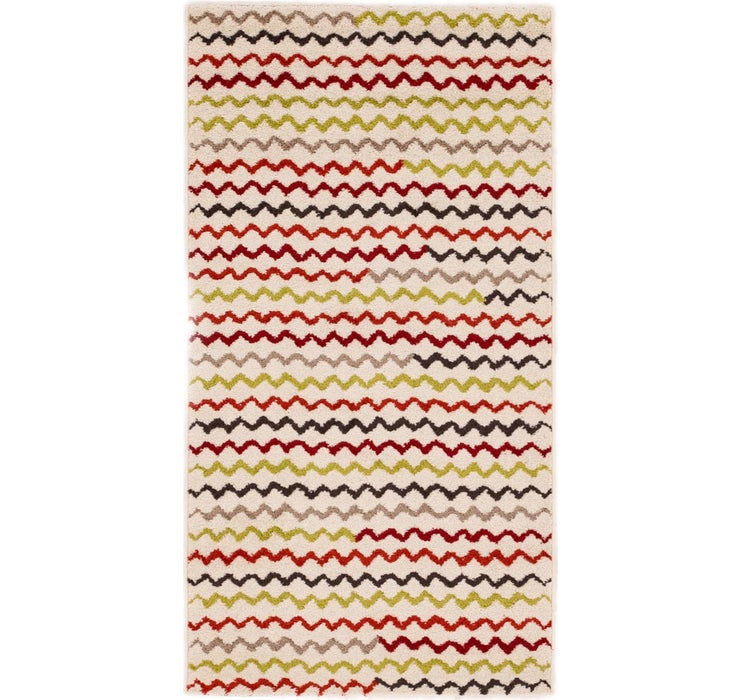 80cm x 152cm Reproduction Gabbeh Rug