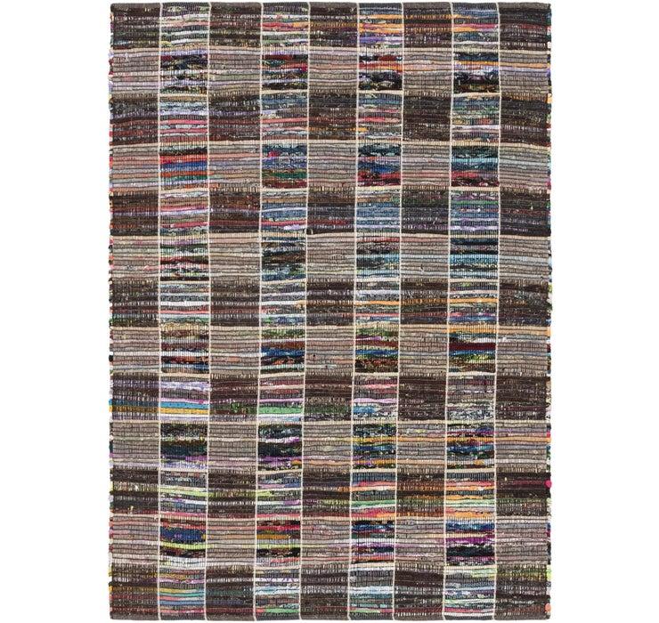 142cm x 205cm Chindi Cotton Rug