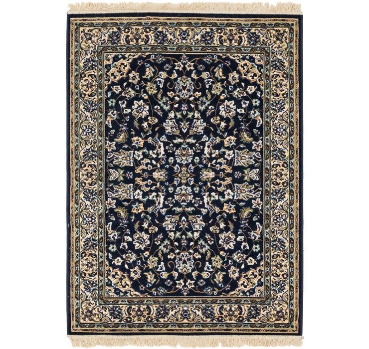 4' x 5' 7 Kashan Design Rug