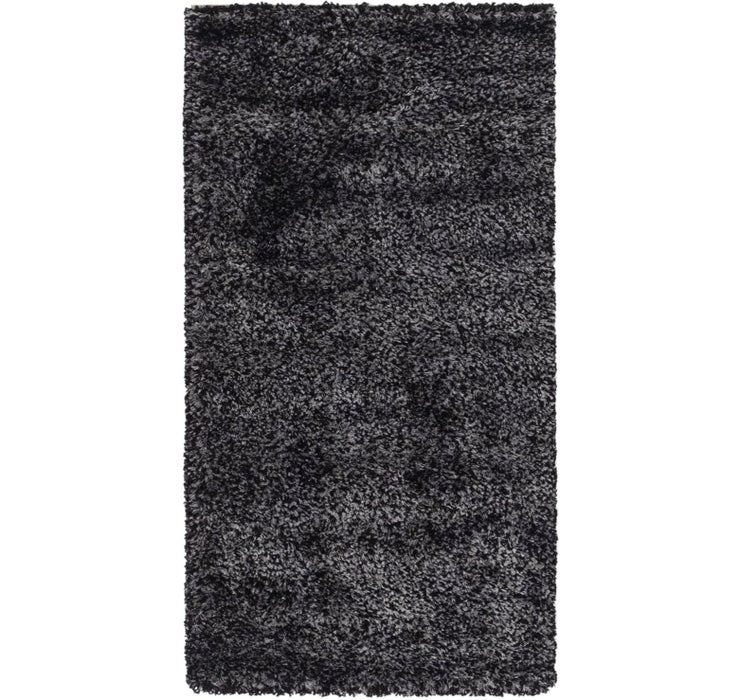 2' 2 x 4' 3 Luxe Solid Shag Rug