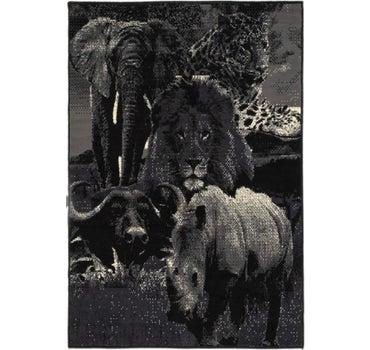 3' 10 x 5' 7 Safari Rug main image