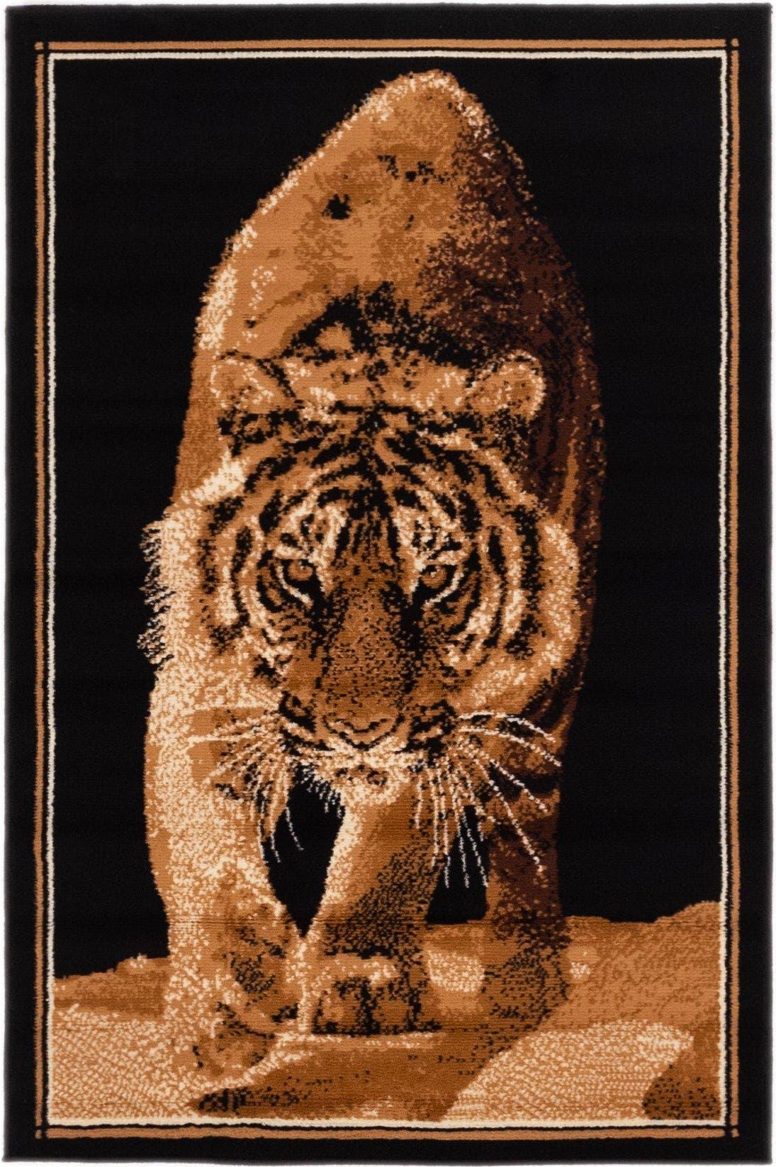 3' 3 x 4' 10 Safari Rug main image