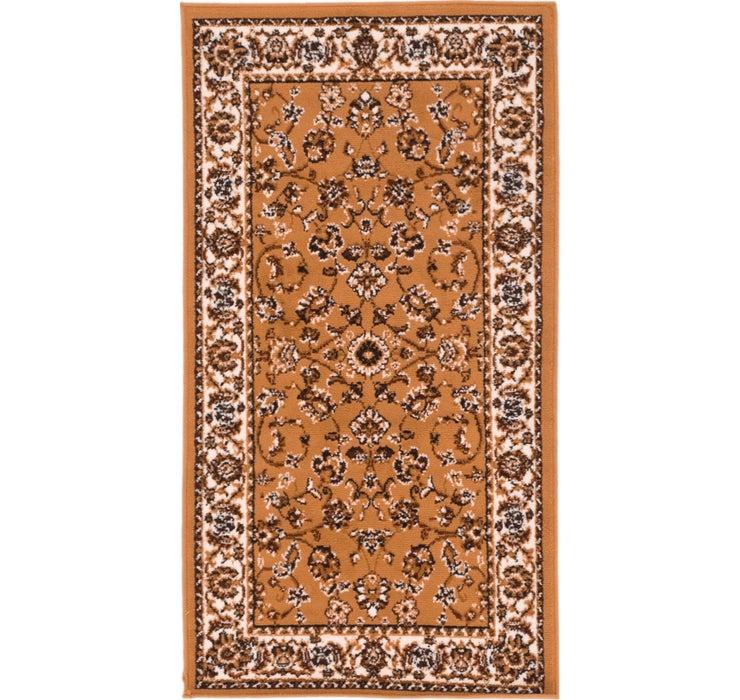 2' 7 x 4' 10 Kashan Design Rug