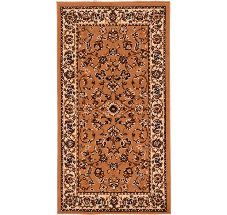 2' 8 x 4' 7 Kashan Design Rug