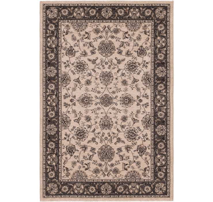 4' 4 x 6' 5 Kashan Design Rug
