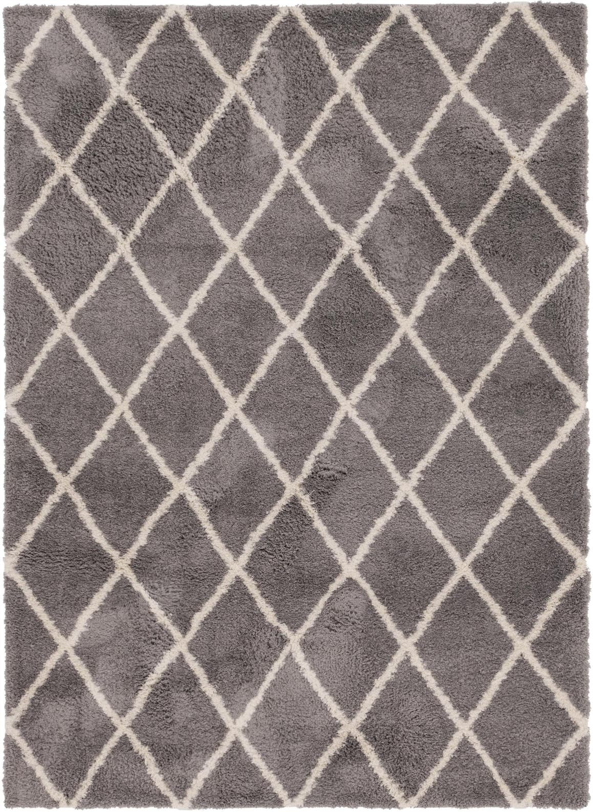 5' x 7' Trellis Shag Rug main image