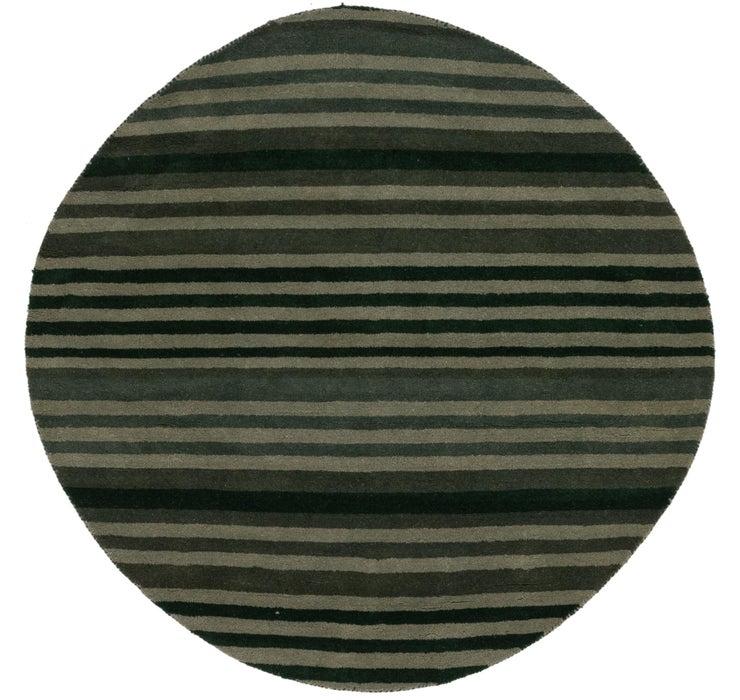175cm x 175cm Indo Gabbeh Round Rug