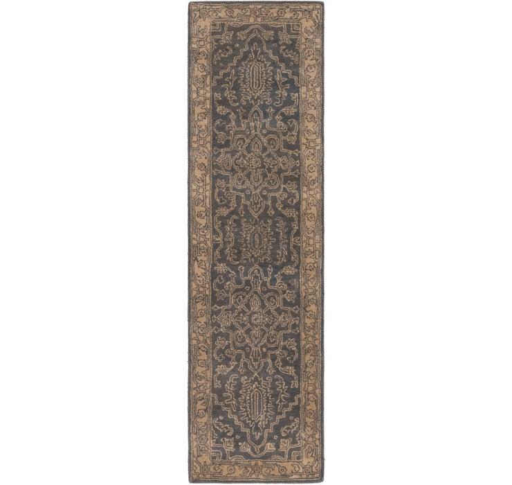 80cm x 300cm Classic Agra Runner Rug