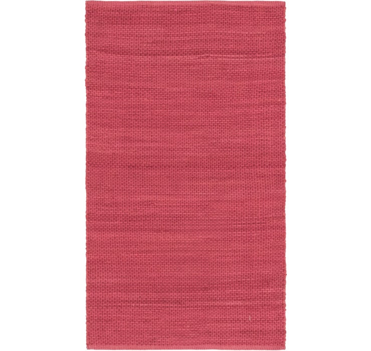 85cm x 152cm Chindi Cotton Rug