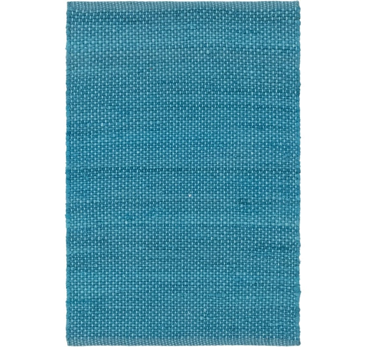 2' x 3' 2 Chindi Cotton Rug