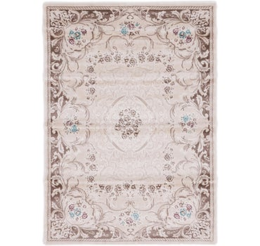4' 7 x 6' 5 Classic Aubusson Rug main image