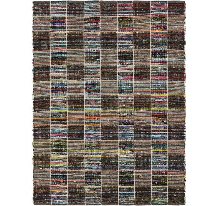 142cm x 193cm Chindi Cotton Rug