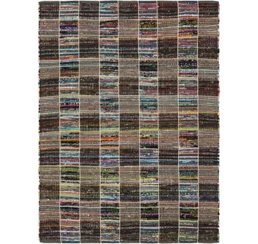 4' 8 x 6' 4 Chindi Cotton Rug main image