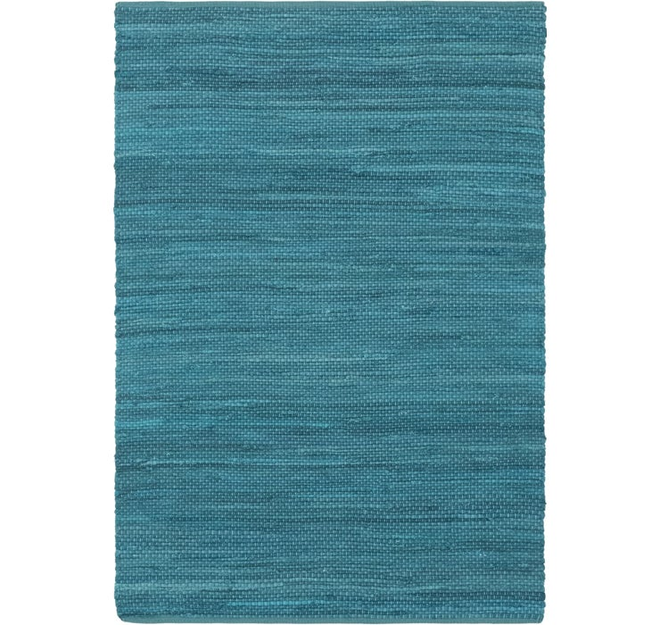 4' x 5' 10 Chindi Cotton Rug