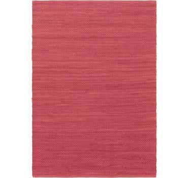 Image of 4' x 5' 8 Chindi Cotton Rug