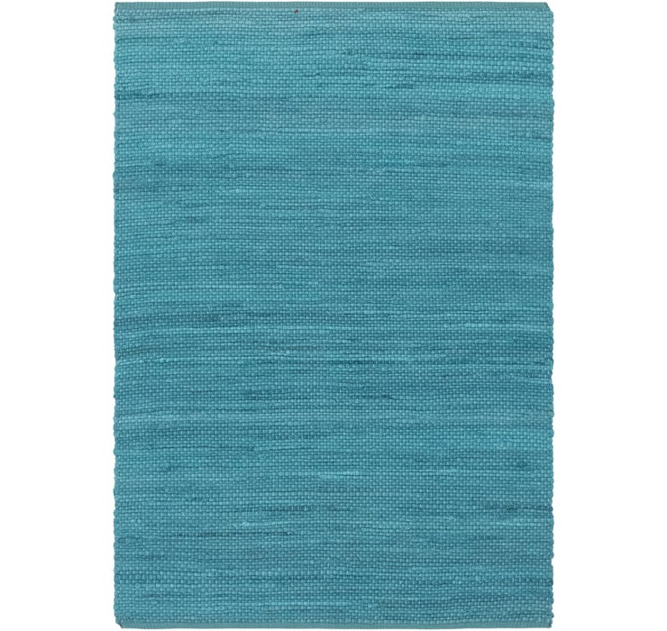4' x 5' 9 Chindi Cotton Rug