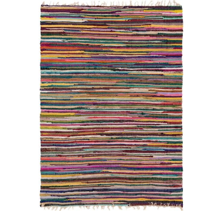 140cm x 195cm Chindi Cotton Rug