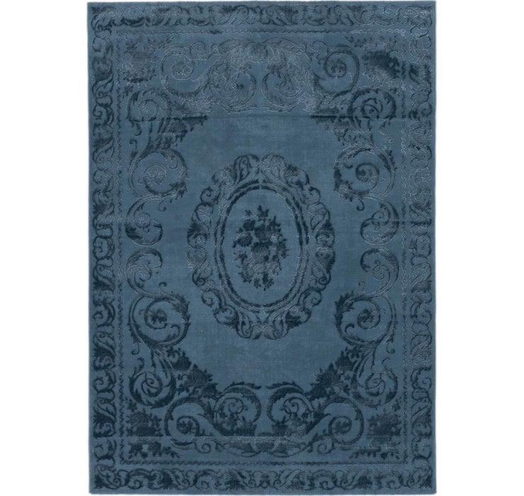 Image of 160cm x 230cm Carved Aubusson Rug