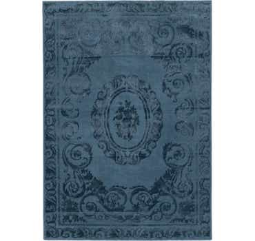 Image of 5' 3 x 7' 7 Carved Aubusson Rug