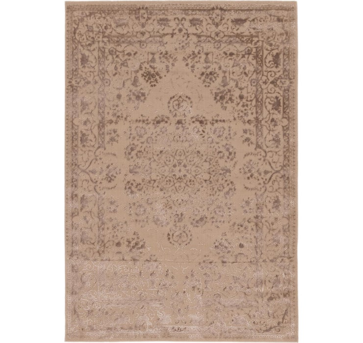 Image of 160cm x 235cm Carved Aubusson Rug