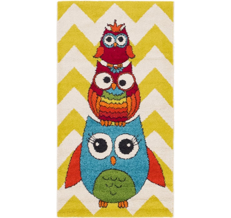 80cm x 147cm Play Time Rug