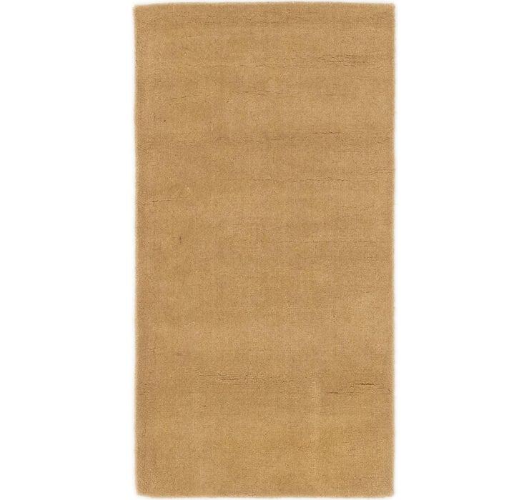 Image of 2' 5 x 4' 7 Indo Gabbeh Rug