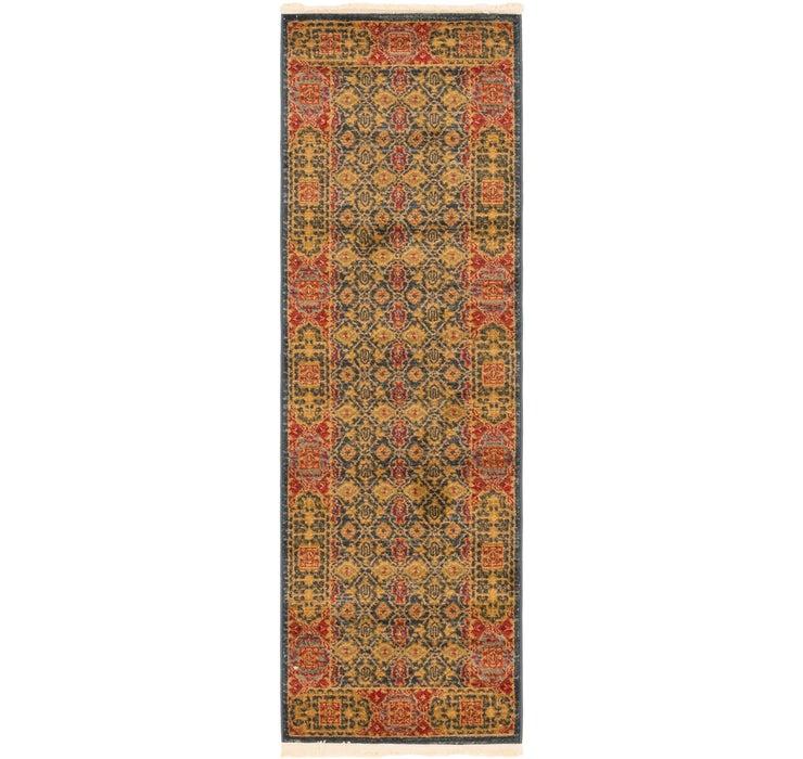 60cm x 183cm Mamluk Runner Rug