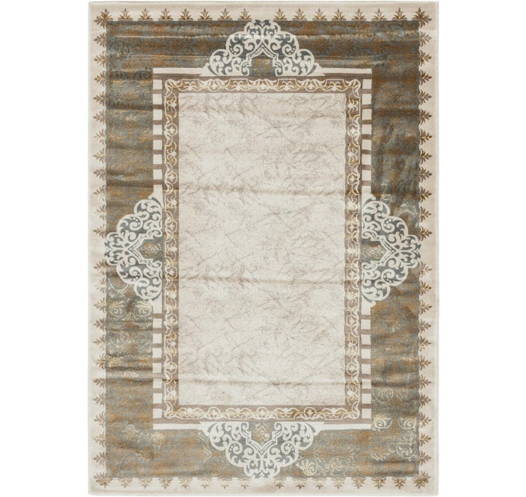 Image of 5' 3 x 7' 6 Classic Aubusson Rug