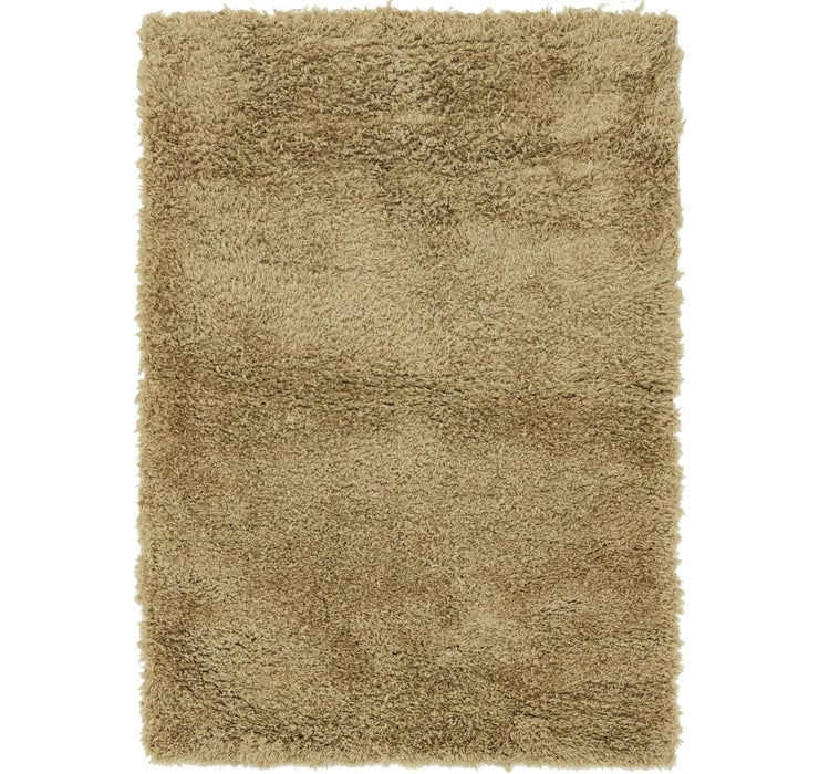 5' 2 x 7' 6 Luxe Solid Shag Rug